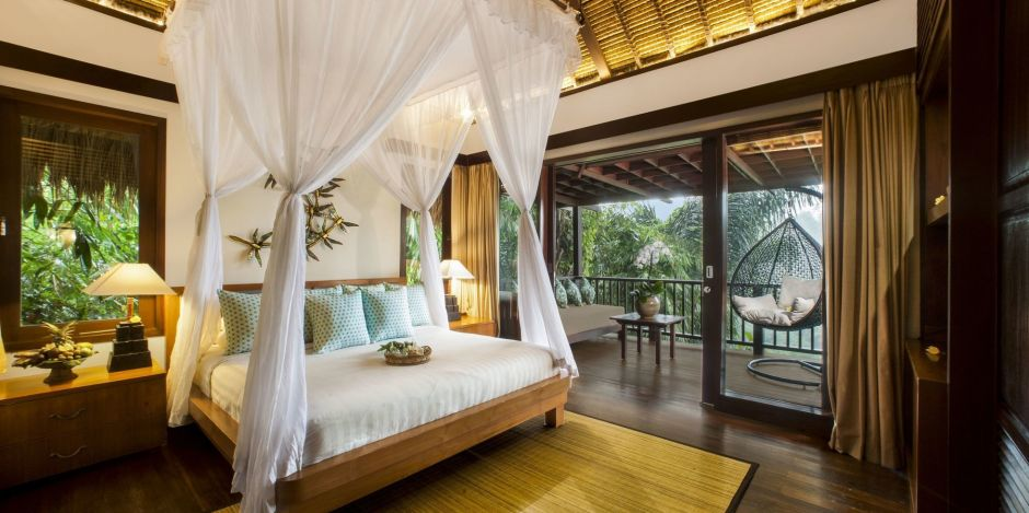 Zimmer im Nandini Jungle Resort, Indonesien
