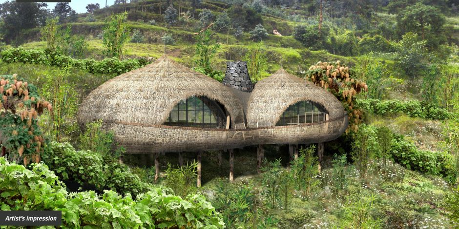 Die Bisate Lodge Ruanda in Bildern
