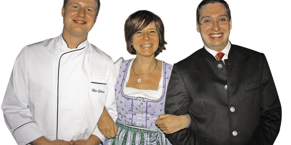 Ambitioniertes Trio: (von links) Chris Lehmann, Claudia Schweitzer, Alexander Christoffer