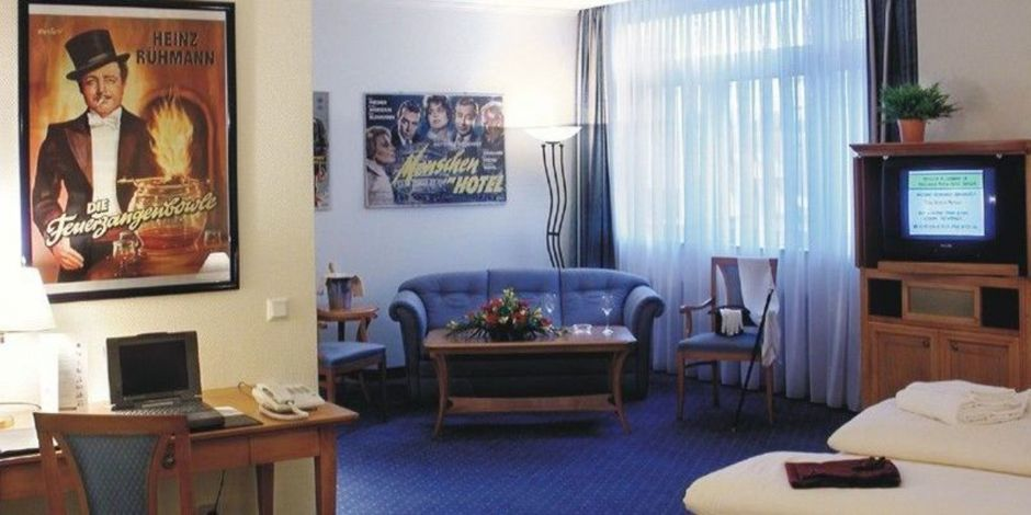 Junior-Suite im Filmhotel