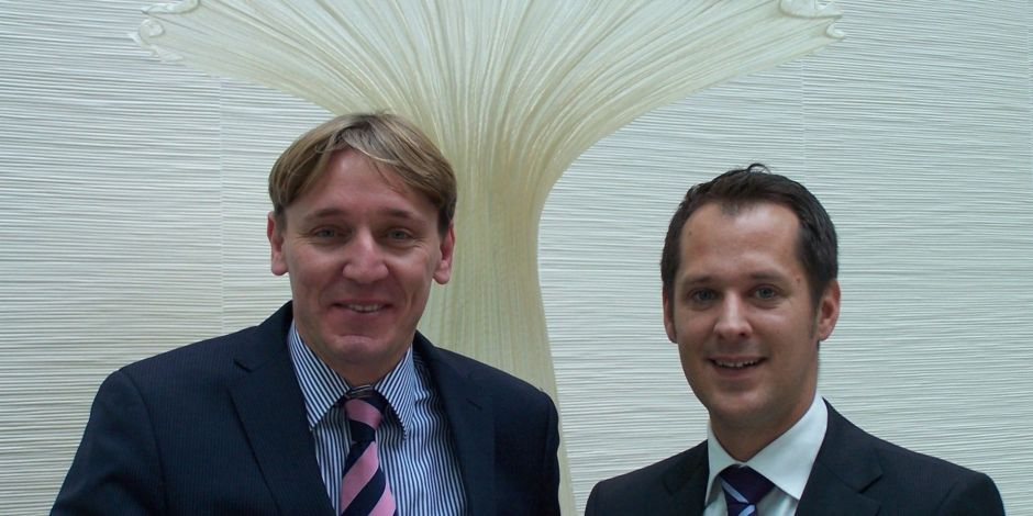 Das Hilton-Führungsduo: Cluster Manager Charles Muller und Marc Snijders, Cluster Director of Business Development