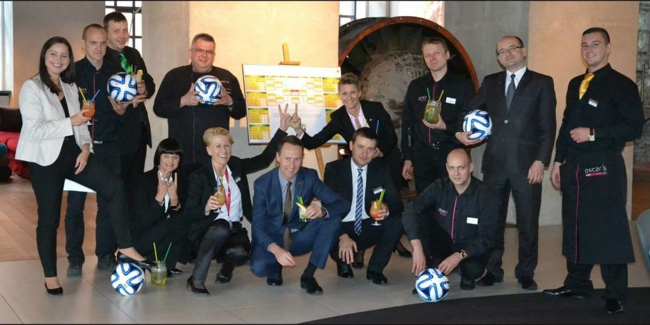 Barmanager im Andel's Hotel Lodz
