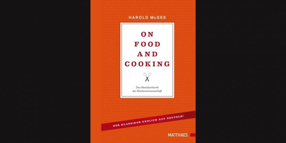 "Silbermedaille: ""On Food and Cooking"" von Harold McGee"