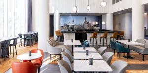 Cooler Look: Das Restaurant Rabbit Hole im Residence Inn Gent